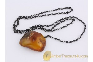 ANTIQUE Butterscotch Genuine BALTIC AMBER Pendant anp1